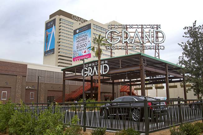 A view of the the Downtown Grand in downtown Las Vegas Tuesday, Nov. 12, 2013.