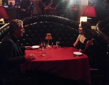 "Anthony Bourdain caught up with a famous former mayor and a not-so-famous, but terrific, lounge performer during his sweep of Vegas. Bourdain also stopped at Atomic Liquors, Lotus of Siam in the Commercial Center and Raku in Chinatown on Spring Mountain Road. His take on the quick tour? ""I think snarky food writers are wary of the fact that (Lotus) has been overpraised, but it has not been overpraised. I've been to Northern Thailand, and it's a very specifically delicious type of Thai food. It really is a great restaurant. It's as good as they say."""
