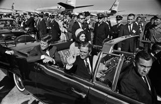 A 10-mile drive through Dallas and a speech on national security at the Trade Mart awaited President John F. Kennedy, as he, first lady Jacqueline Kennedy, Texas Gov. John Connally and Nellie Connally, departed Love Field on Nov. 22, 1963. Less than a hour later, gunshots would shatter the president's plans, and plunge the nation into profound grief. Take a trip back to that fateful day, 50 years ago.