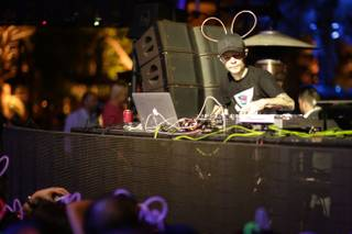 Deadmau5 at XS on Friday, Nov. 15, 2013, in Encore.