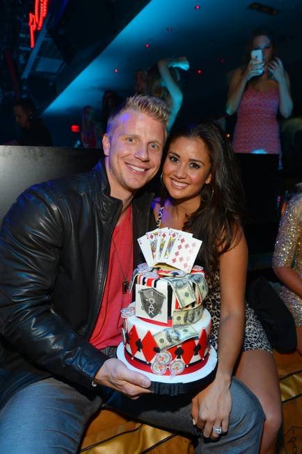 Sean Lowe, with fiance Catherine Giudici, celebrates his 30th birthday ...