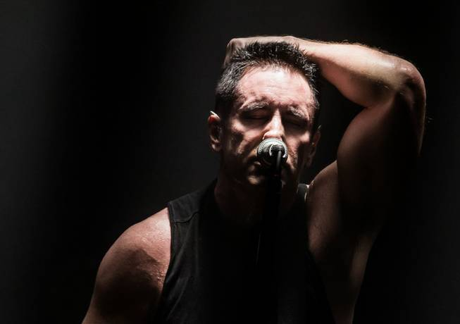 Nine Inch Nails at the Joint on Friday, Nov. 15, 2013, at Hard Rock Hotel Las Vegas.