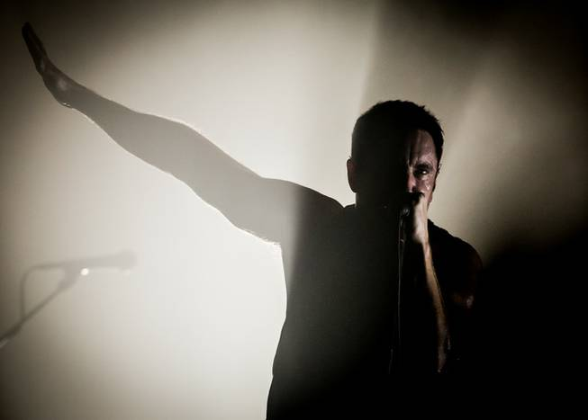 Nine Inch Nails at the Joint on Friday, Nov. 15, ...