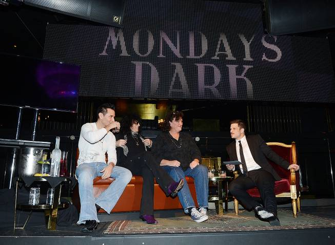 Travis Cloer, Paul Shortino and Dot-Marie Jones and Mark Shunock ...
