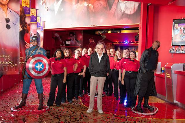 Madame Tussards underwent a multimillion-dollar renovation, including a new Marvel 4D action ride.