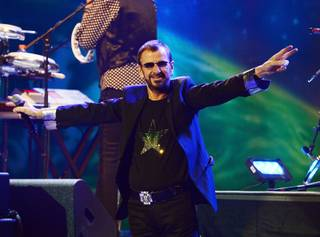 Ringo Starr & His All-Starr Band at Pearl at the Palms on Friday, Nov. 22, 2013.
