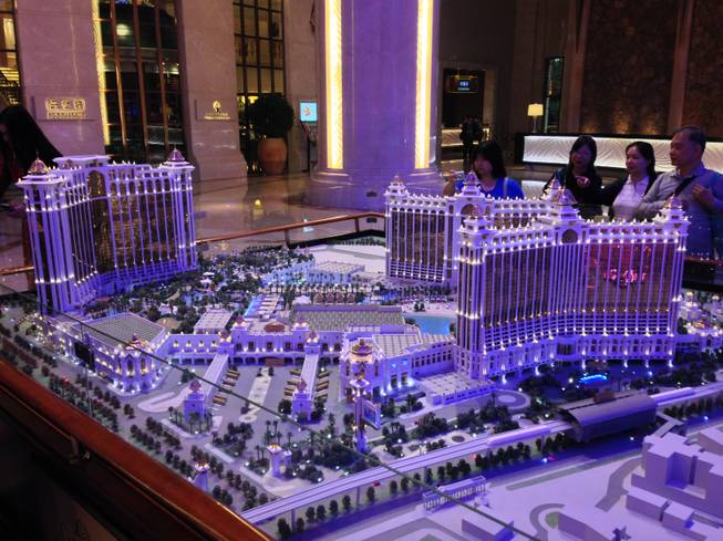 A rendering of Galaxy Macau after its Phase 2 expansion is complete.
