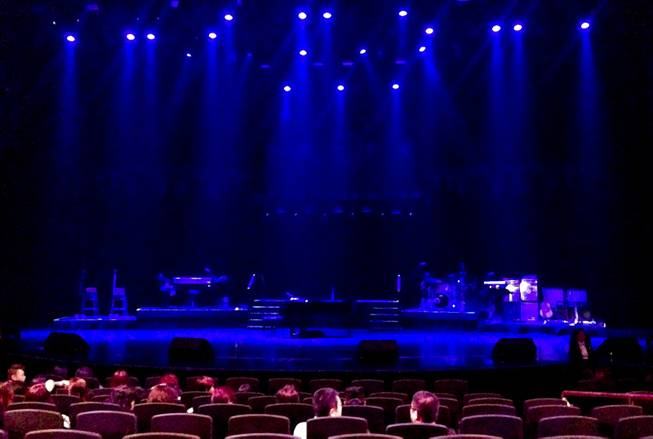 The Venetian Macau Theater is seen prior to Alica Keys taking the stage.