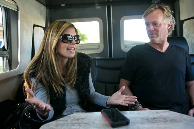 "Scott and Amie Yancey, from A&E's ""Flipping Vegas,"" during an interview on Tuesday, Nov. 26, 2013."