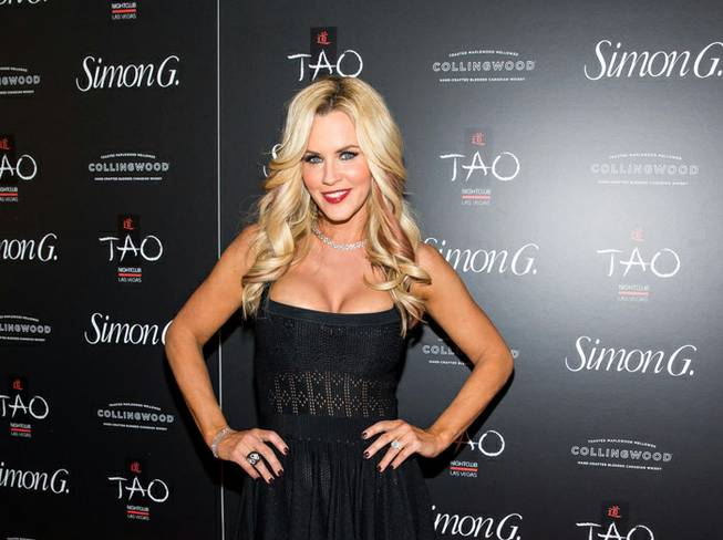 Jenny McCarthy attends the 2013 Simon G. Jewelry Summer Soiree at Tao in The Venetian on Saturday, June 1, 2013.