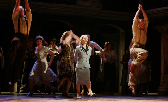 Argentine actress Elena Roger plays the lead role of Eva Peron,  in the musical 'Evita' during a photo-call at the Adelphi theatre in London, Monday June 19, 2006.