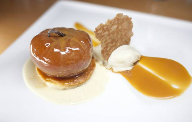 Chef Todd Harrington's apple tatin.
