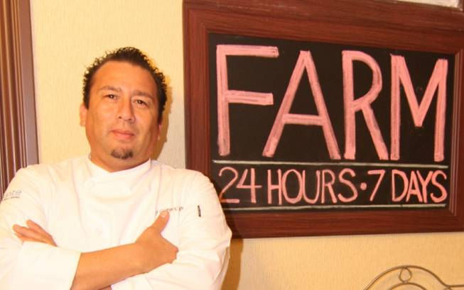 George Jacquez at Farm 24/7 in Aliante.