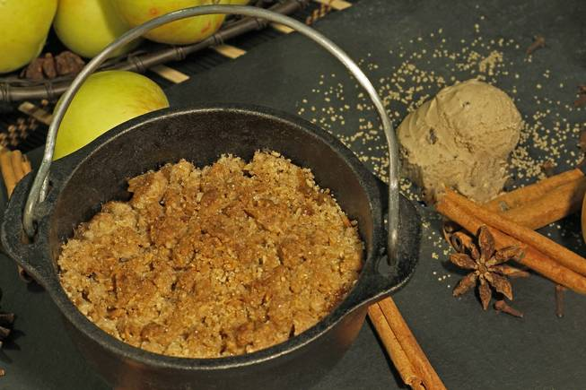 K.C. Fazel's Dutch apple crisp.