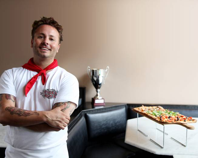 Tony Gemignani of Pizza Rock in Downtown Las Vegas.
