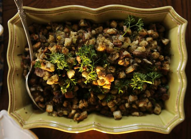 Tom Ryan's turkey stuffing.