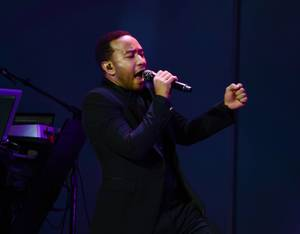 John Legend, Tamar Braxton at Palms