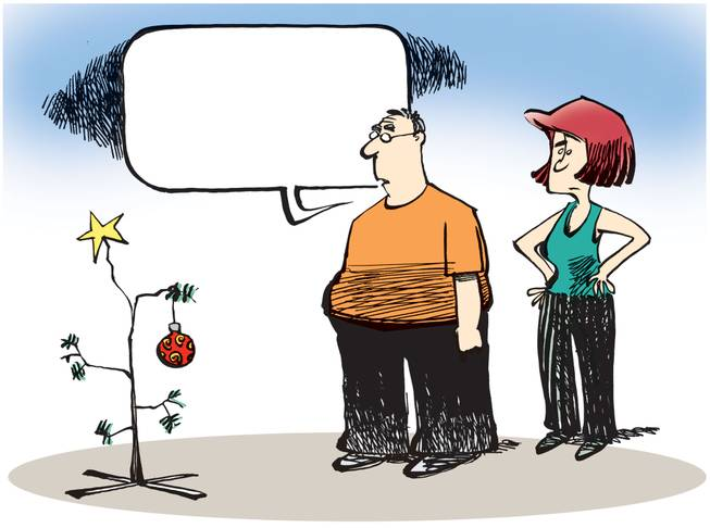What should the word bubble say? Tell us in the Smithereens Cartoon Caption Contest.