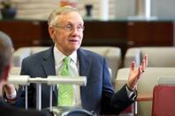 Senate Majority Leader Harry Reid sits down with the Las Vegas Sun, Tuesday Dec. 3, 2013.