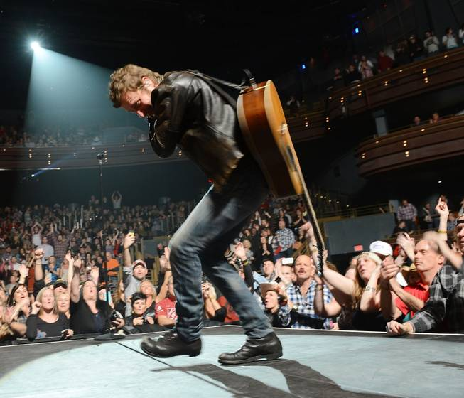 Dierks Bentley performs at Pearl at the Palms on Friday, ...
