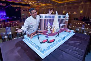 Buddy Valastro at Bella Notte at the 2013 La Cucina Italiana Food and Wine Festival on Saturday, Dec. 7, 2013.
