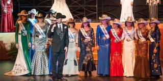 Miss Mississippi Paige Nicholson won the 2014 Miss Rodeo America Pageant at South Point on Monday, Dec. 9, 2013, and was crowned by 2013 Miss Rodeo America Chenae Shiner. Miss Colorado Sara Wiens was runner-up.
