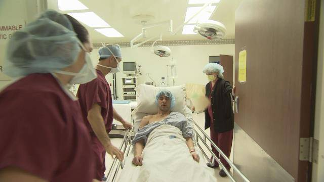 Criss Angel prepares for surgery on Spike TV's 'Believe.'