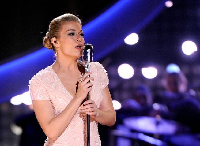 LeAnn Rimes performs a tribute to Patsy Cline at the 2013 American Country Awards on Tuesday, Dec. 10, 2013, at Mandalay Bay Events Center.