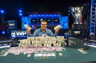 Dan Smith, 24, wins the 2013 World Poker Tour Doyle Brunson Five Diamond World Poker Classic on Friday, Dec. 13, 2013, at Bellagio.