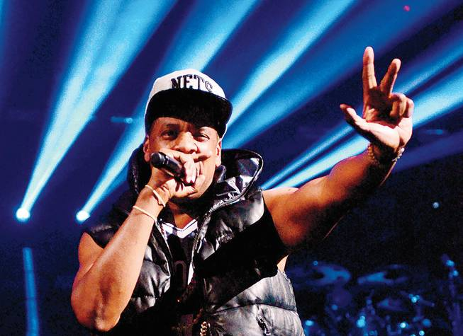 Hyphenless mogul Jay Z holds court at Mandalay Bay this weekend.