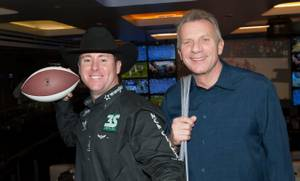 Trevor Brazile, Joe Montana and Emeril Lagasse
