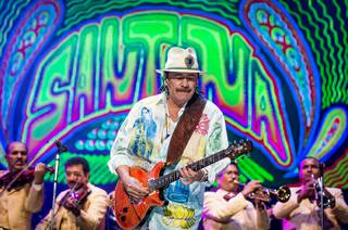 Carlos Santana in Guadalajara, Mexico, on Saturday, Dec. 14, 2013.