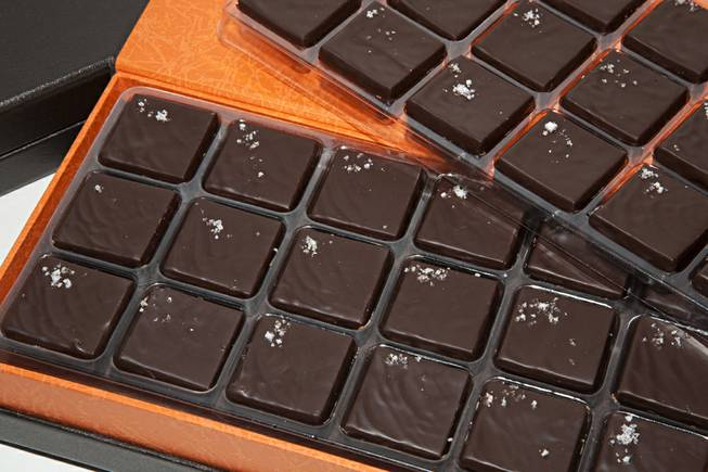The New York Times included Jean-Marie Auboine's chocolate caramels with sea salt on its 2013 list of the 10 best small-batch salted caramels.