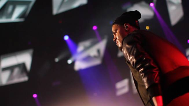 J. Cole at Light on Wednesday, Dec. 18, 2013, in ...