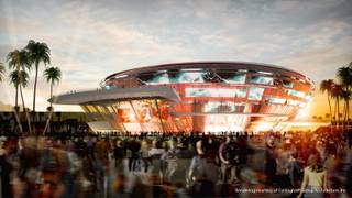 Rendering of the Las Vegas Arena