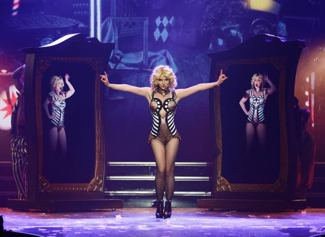 "Opening night of Britney Spears' ""Britney: Piece of Me"" on Friday, Dec. 27, 2013, at The Axis in Planet Hollywood."