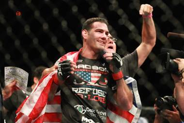 Chris Weidman remembers the specifics of a fabled conversation Dana White tends to forget. White, UFC president, loves to tell of the time Weidman came to him and UFC CEO Lorenzo Fertitta, guaranteeing not only two victories against Anderson Silva but two finishes against the greatest fighter of all time.