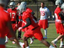 Heart of Dallas Bowl: UNLV Practice
