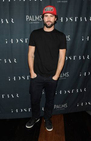 2013 NYE: Brody Jenner and Robin Thicke at Palms