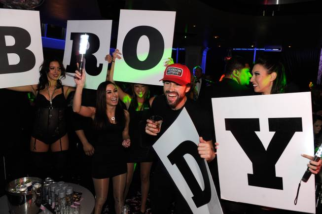 Brody Jenner hosts at Ghostbar on Sunday, Dec. 29, 2013, ...