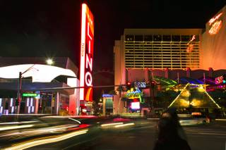 The Linq shopping and food area between The Quad and The Flamingo with stores open is attracting customers on Friday, Jan. 3, 2014.