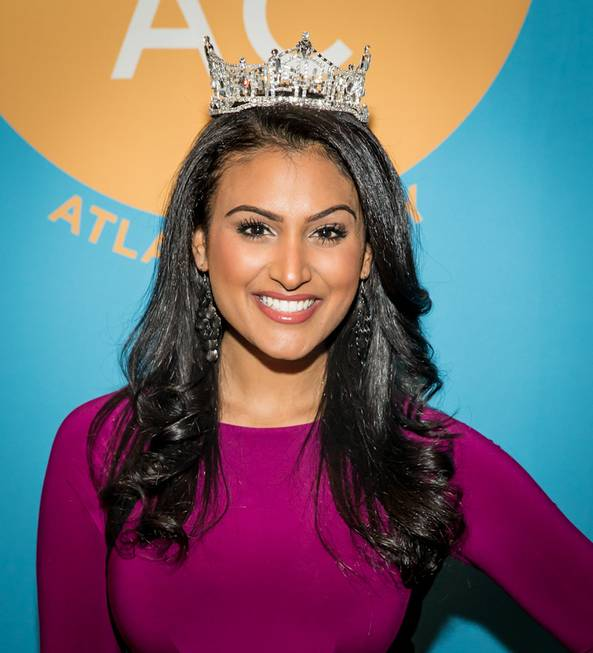 2014 Miss America Nina Davuluri represents DO AC during the ...