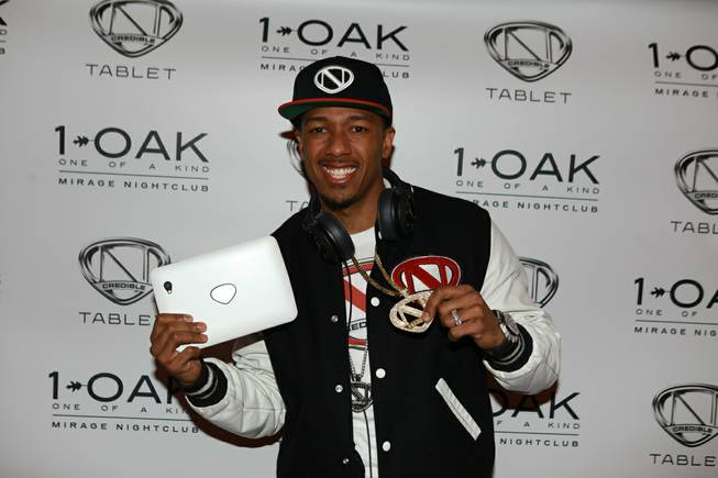 Nick Cannon hosts and spins at the Ncredible tablet party ...