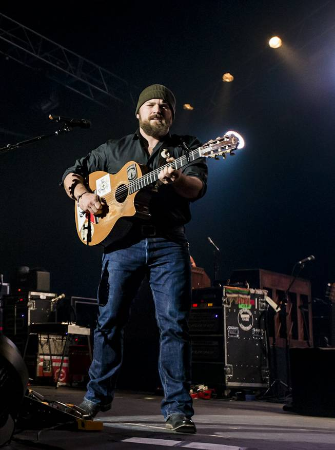 Zac Brown Band performs Night 1 of a two-evening stand at the Joint in the Hard Rock Hotel on Saturday, Jan. 11, 2014, in Las Vegas.