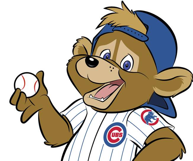 This artist's rendering provided Monday, Jan. 13, 2014, by the Chicago Cubs shows Clark, a new mascot introduced today, the first in team history.