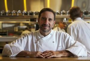 Chef Sam Marvin of the Echo & Rig Steakhouse in Tivoli Village on Tuesday, Jan. 14, 2014.