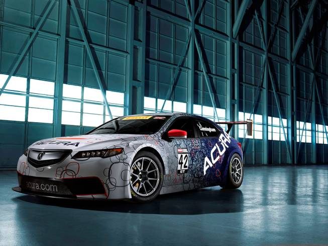 2015 Acura TLX GT Race Car debuts at North American International Auto Show 1-14.