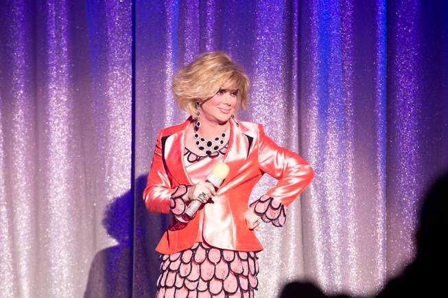 "Las Vegas headliner Frank Marino returns to ""Divas La Vegas"" as Joan Rivers at the Quad in his debut performance Jan. 20, 2014, after undergoing his most recent plastic surgery."