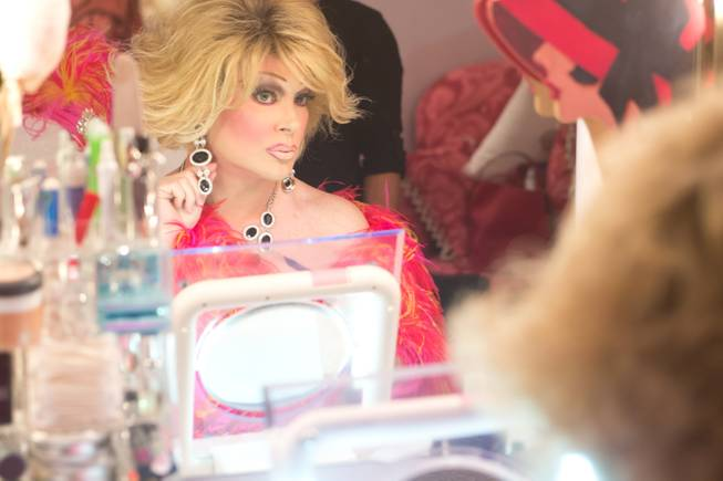Las Vegas headliner Frank Marino transforms himself into Joan Rivers for his return to the stage after his most recent plastic surgery procedure Jan 20, 2014.
