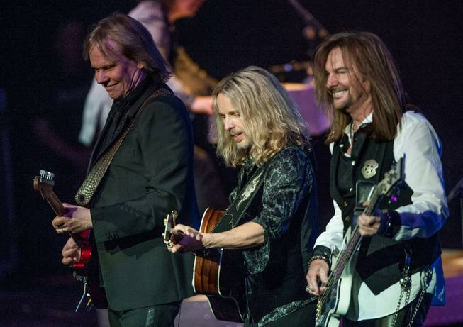 Styx rocks Pearl at the Palms on Sunday, Jan. 19, ...